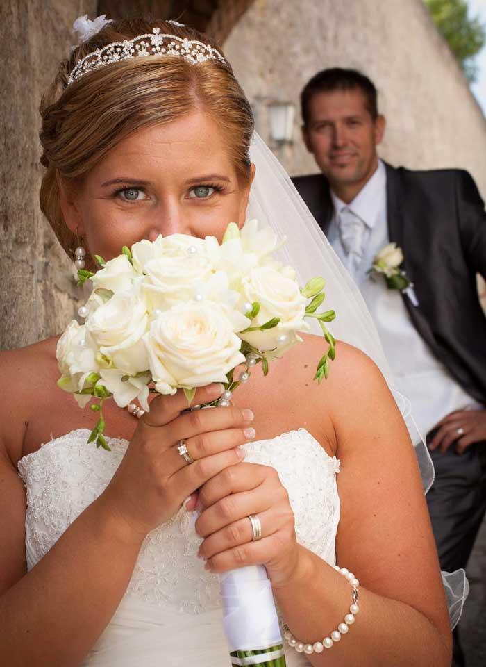 Kvety Darinka - svadobná kytica