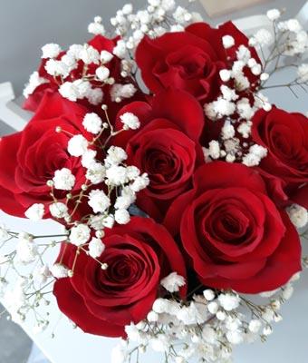 Kvety Darinka - kytica - ruže